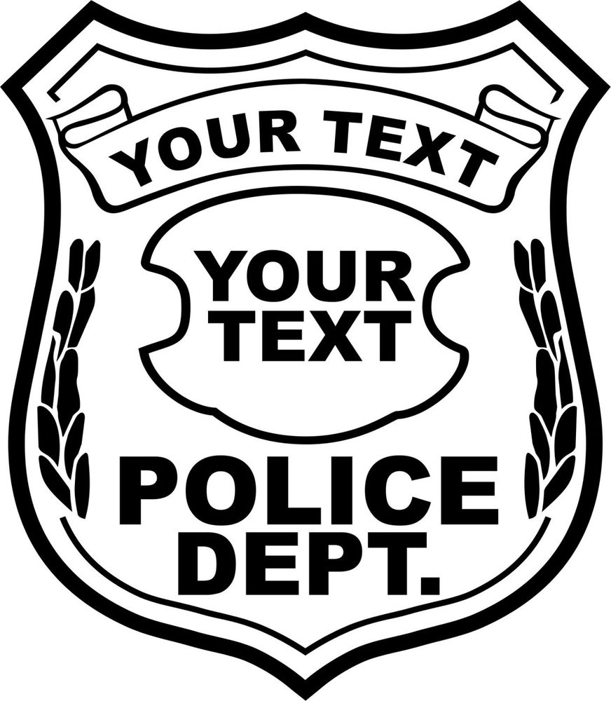 Officers Badge Clipart - Clipart Kid