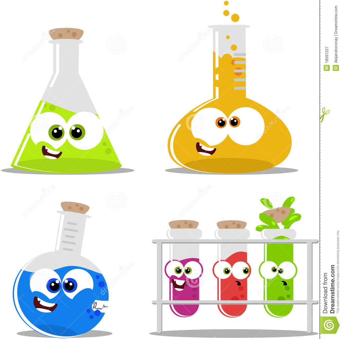 Science Chemical Flasks And Beakers Royalty Free Stock Photography # ...