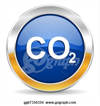 Stock Illustration   Carbon Dioxide Icon  Clipart Illustrations