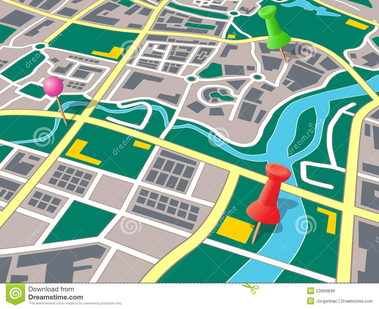 Simple Street Map Clipart - Clipart Kid