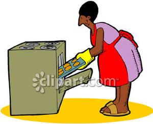 Woman Baking Clipart - Clipart Kid