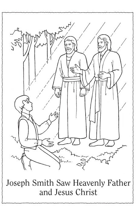 Children  Lesson 21  Joseph Smith Saw Heavenly Father And Jesus Christ