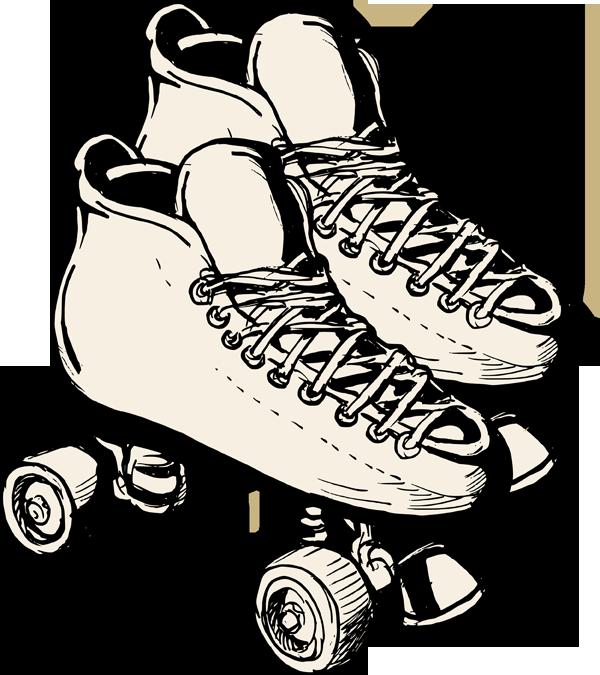 Clip Art Roller Skates Clip Art skate roller skating clipart kid clipartbest com