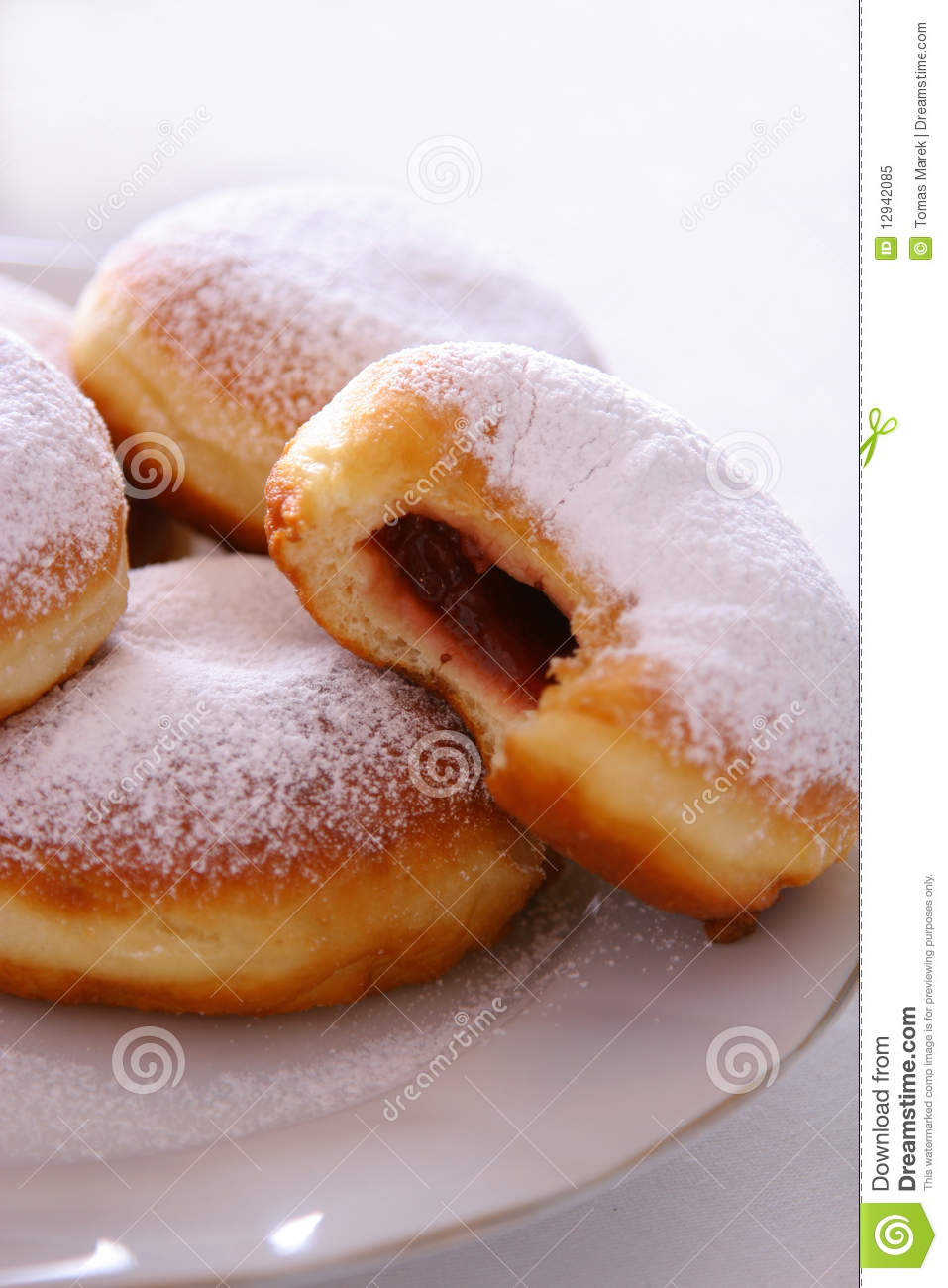 Fresh Donut Royalty Free Stock Photo   Image  12942085