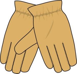 Gloves Clipart Image  Gardening Gloves