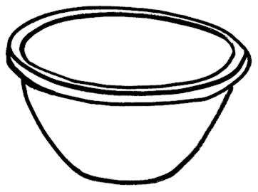 Mixing Bowl Clipart Oeregwwi