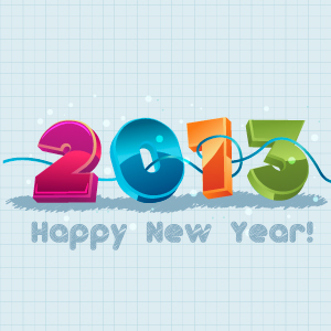 New Year 2013 Illustration 2 Vector   Freevectors Net