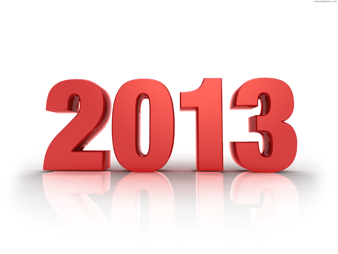 New Year 2013  Png    Psdgraphics