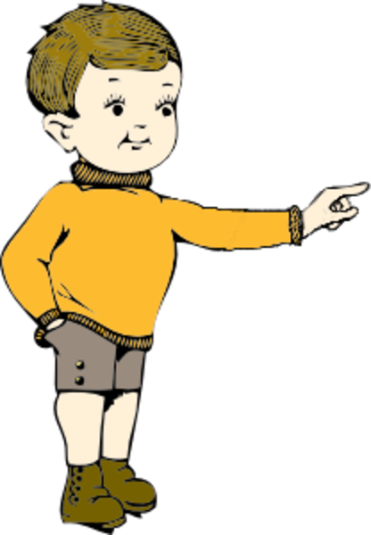 clipart man pointing finger - photo #41
