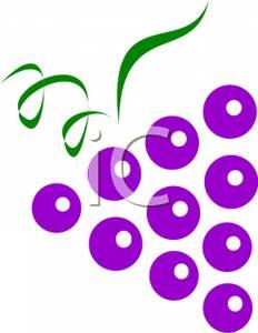 Purple Grapes Clipart - Clipart Kid