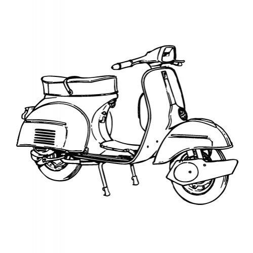 razor scooter clipart