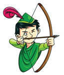 Robin Hood Stock Illustration   Clipart Panda   Free Clipart Images