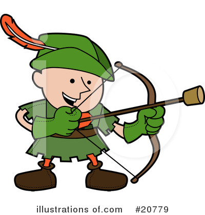 Royalty Free  Rf  Robin Hood Clipart Illustration  20779 By Geo Images