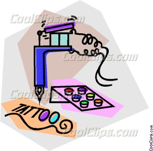 Tattoo Artist Clipart Tattoo Gun With Ink