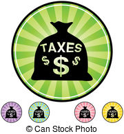 Taxes Clip Art Vector Graphics  6027 Taxes Eps Clipart Vector And