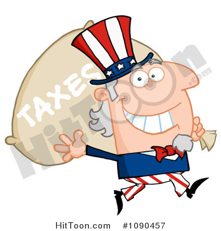 Taxes Clipart Uncle Sam Clipart  1090457