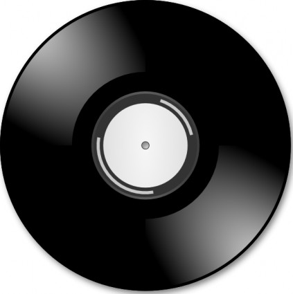 Vinyl Disc Record Clip Art Free Vector In Open Office Drawing Svg