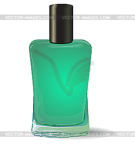 Bottle Of Nail Polish   Vector Clipart