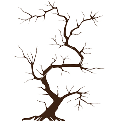 Clip Art Tree No Leaves Tree Without Leaves Vector 700403 Jpg