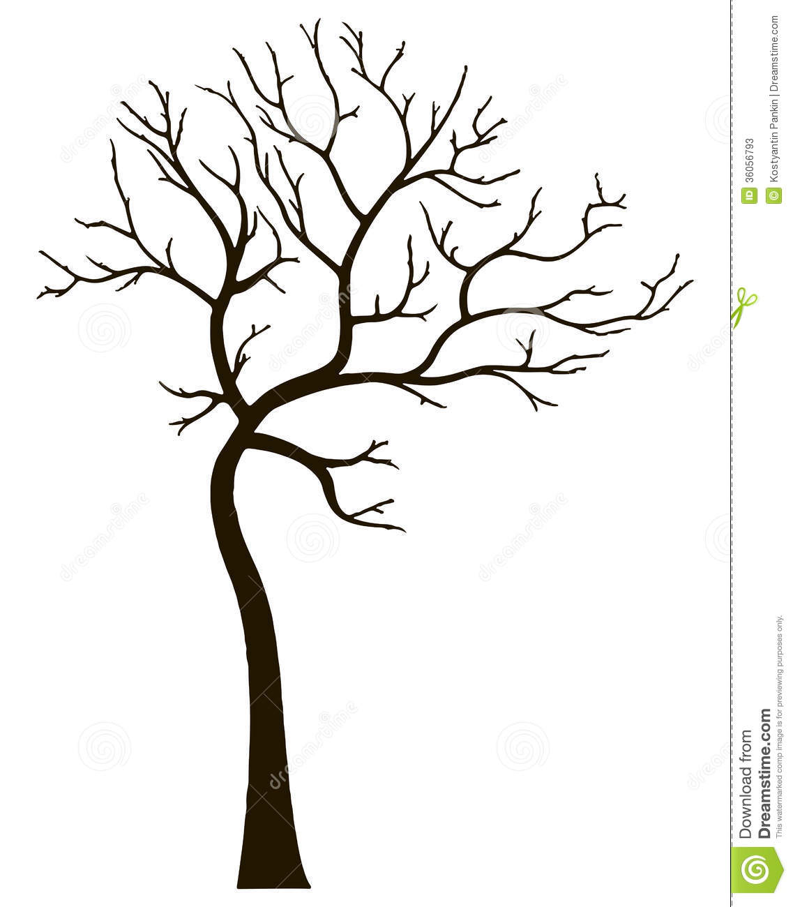 Clipart Tree Without Leaves Tree No Leaves Clip Art