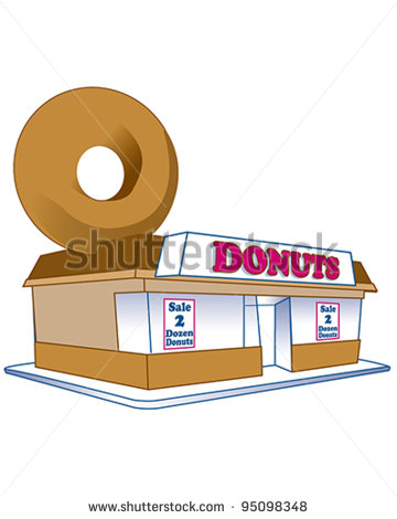 Donut Shop Stock Photos Illustrations And Vector Art