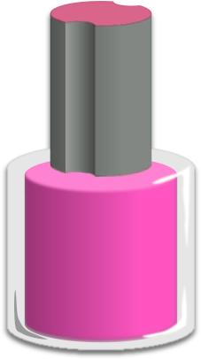 Clip Art Nail Polish Clip Art nail polish clipart kid bottle pink a public domain png image
