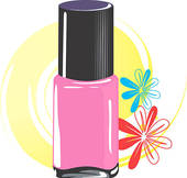 Search Results For  Nail Polish Clip Art