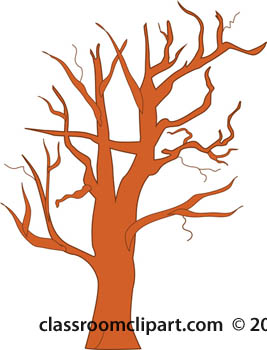 Trees   Tree With No Leaves   Classroom Clipart
