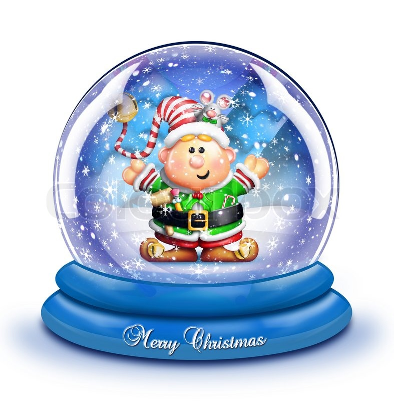 Cute Christmas Snow Globe Clipart - Clipart Kid