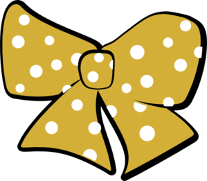Cheer Bow Clipart Gold Cheer Bow Clip Art