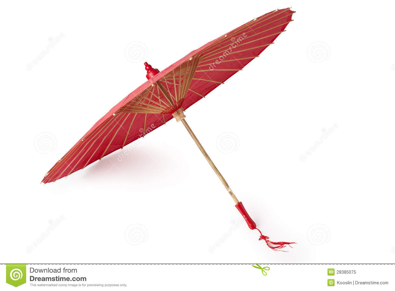 Chinese Red Oiled Paper Umbrella Royalty Free Stock Photo   Image