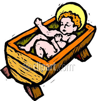 Christian Clipart Net   Baby Jesus Clipart Image
