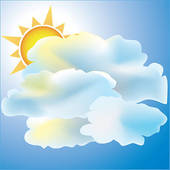 Mostly Sunny Clipart - Clipart Suggest