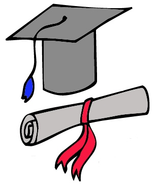 Diploma Degree Clipart Graphic