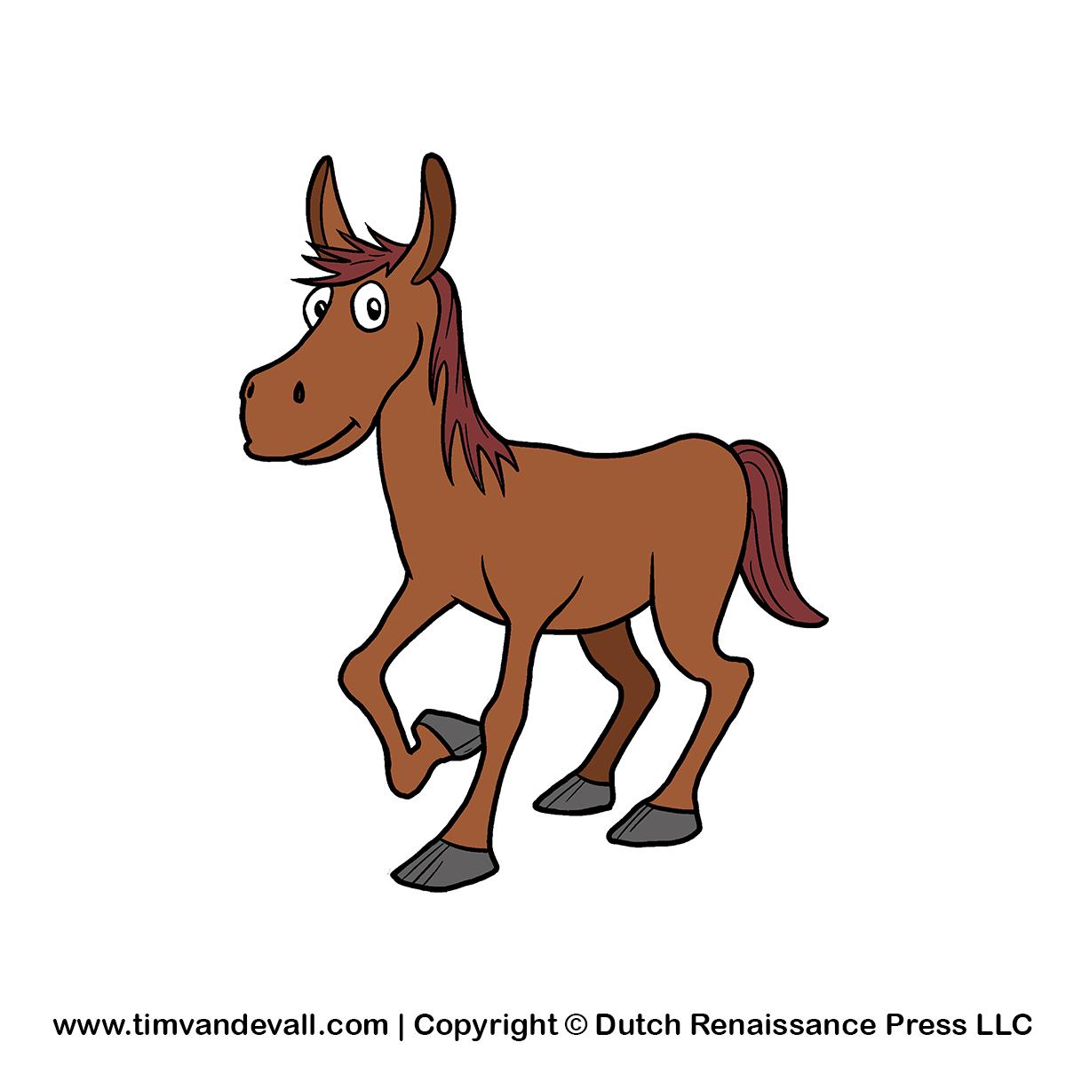 Clip Art Farm Horse Clipart - Clipart Kid