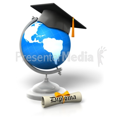Global Degree Educated   Education And School   Great Clipart For