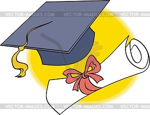 Master Degree   Vector Clipart