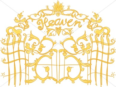 Pearly Gates Of Heaven   Christian Symbols