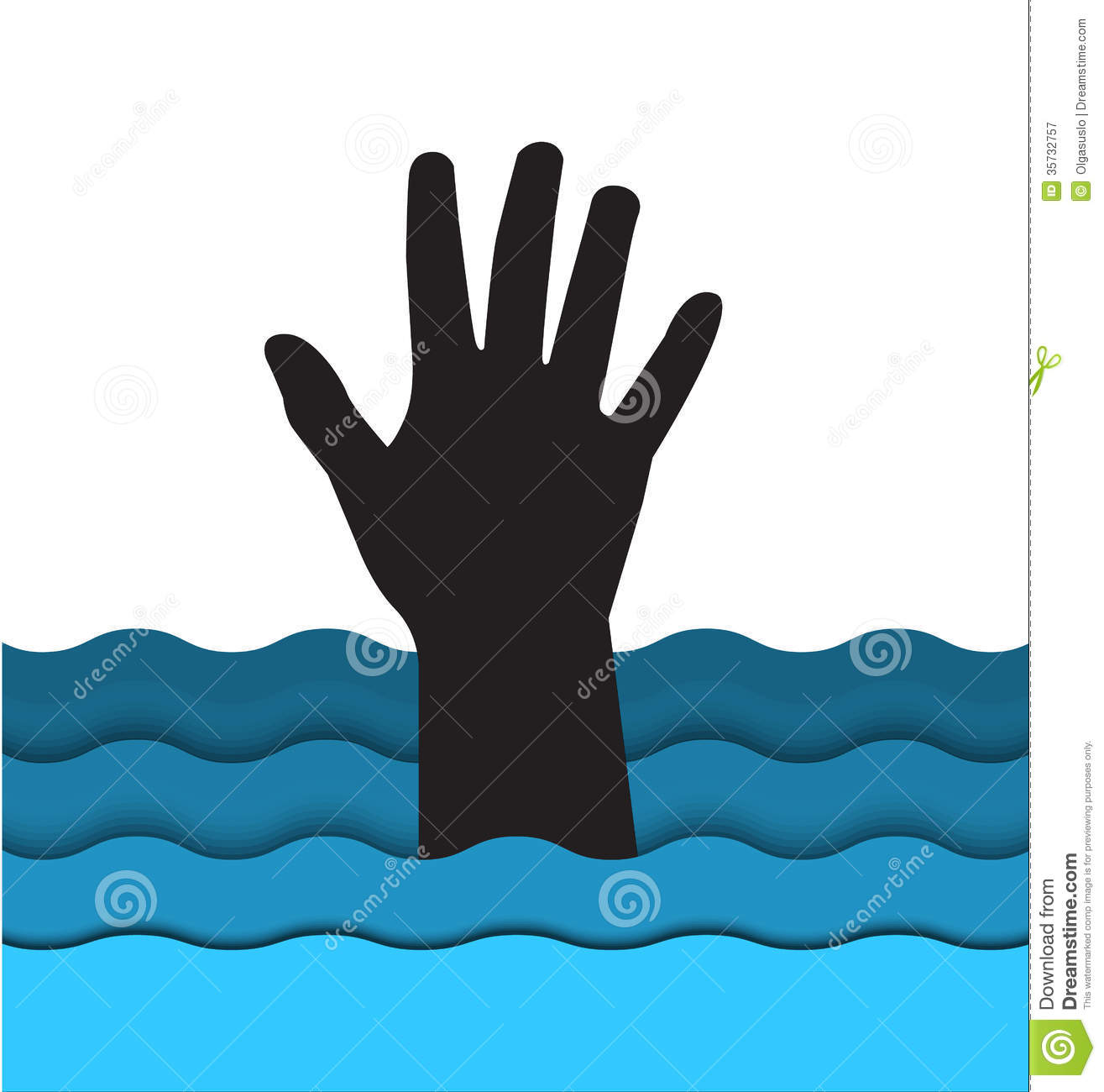 Person Drowning Clipart Drowning Man Hand Sticking Out