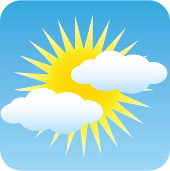 Pin Image Partly Cloudy But Mostly Sunny With Rainbows And Sunshine On