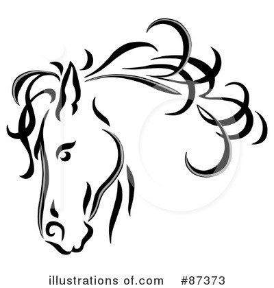 Royalty Free Horse Clipart Illustration 87373 Jpg