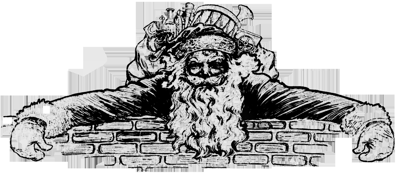 Victorian Santa Clipart - Clipart Kid