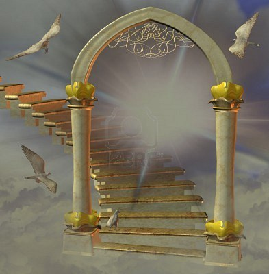 This Image Of Heaven S Entrance Reminds Me Of A Memorial Park S Gates