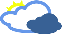 Weather Mostly Cloudy   Http   Www Wpclipart Com Weather Weather Icons