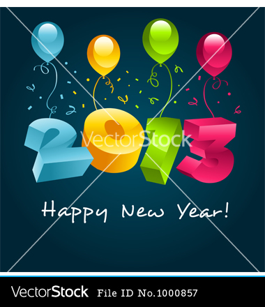 Year 2013 Free Vector On Happy New Year 2013 Vector 1000857 By Mictoon