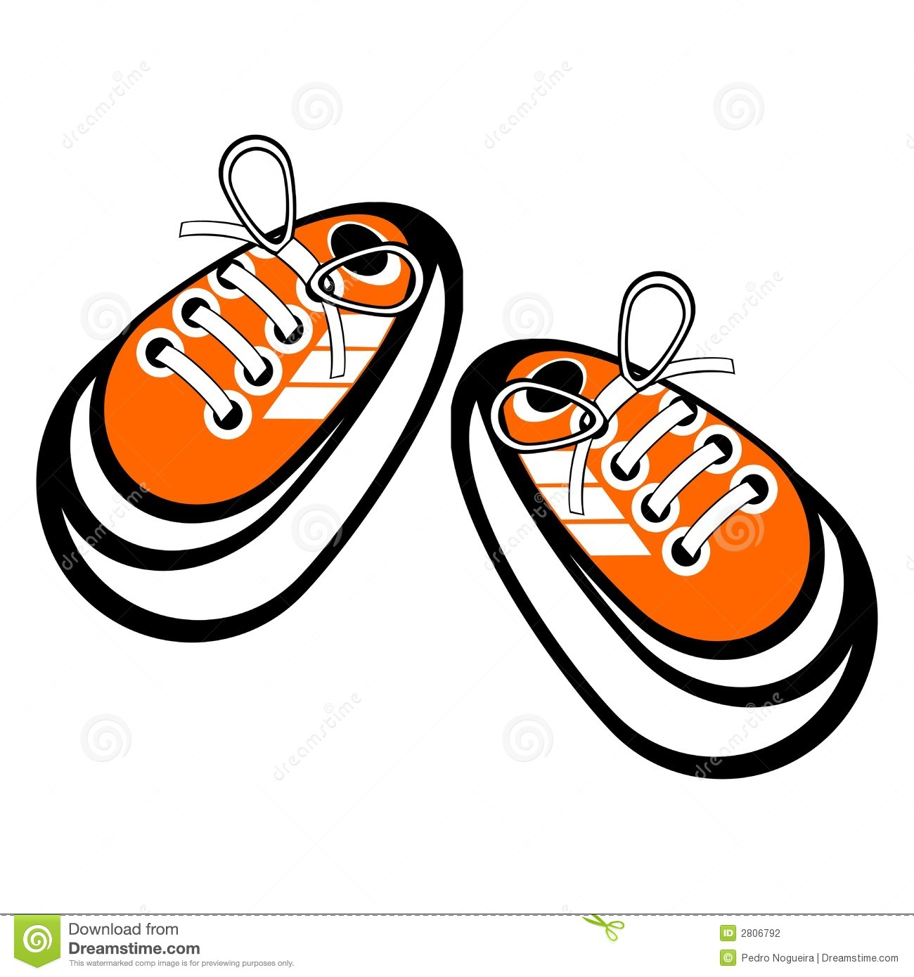 Cartoon Sneakers Clip Art Nike Running Shoes Clipart