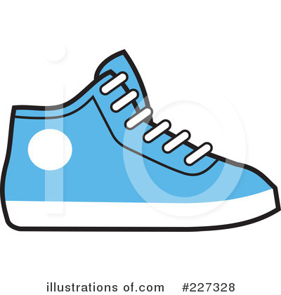 Cartoon Tennis Shoes Clip Art Rf Sneakers Clipart