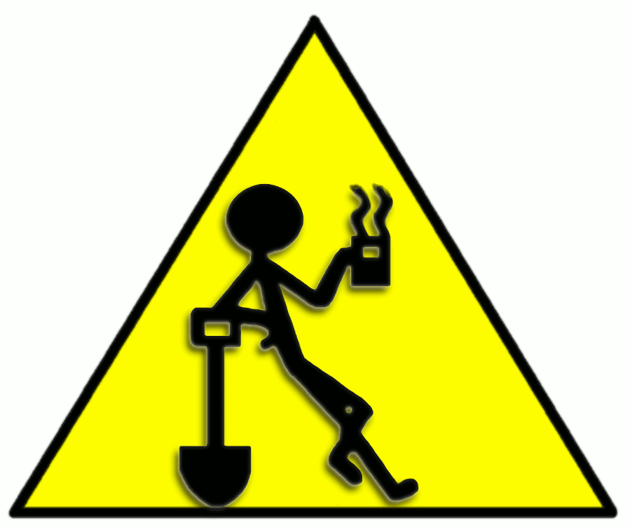 Coffee Break Ahead Sign Png
