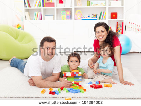 Family Playing Together Clipart Family Playing ...