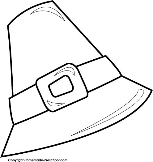 pilgrim hat clipart free - photo #19